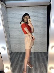 розовая юбка резинка оптом