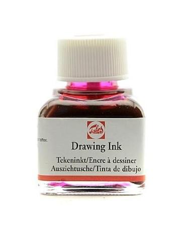 Тушь DRAWING INK банка 11мл цв.№318, карминовая