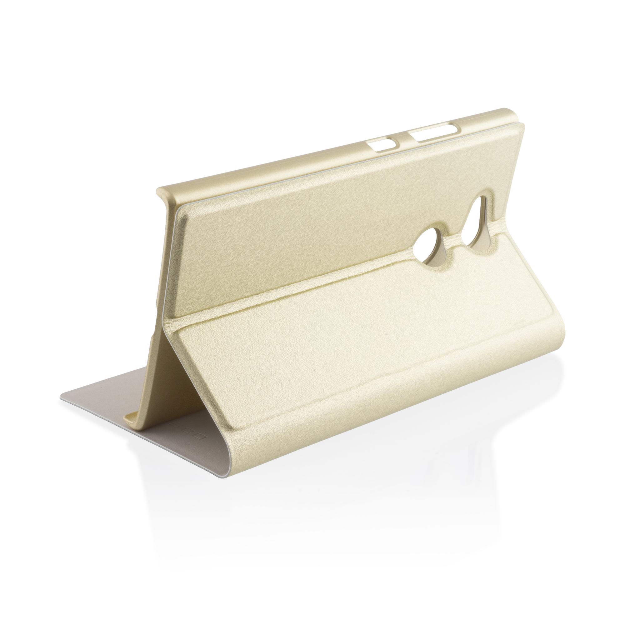 Книжка золотого цвета для Xperia L2 в Sony Centre Воронеж