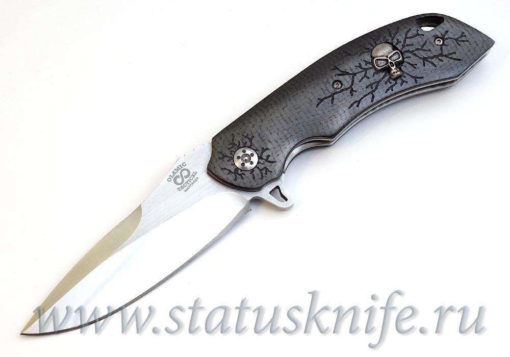 Нож Olamic Cutlery Wayfarer Scull