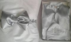 Набор на выписку из роддома весной Excellent серебро