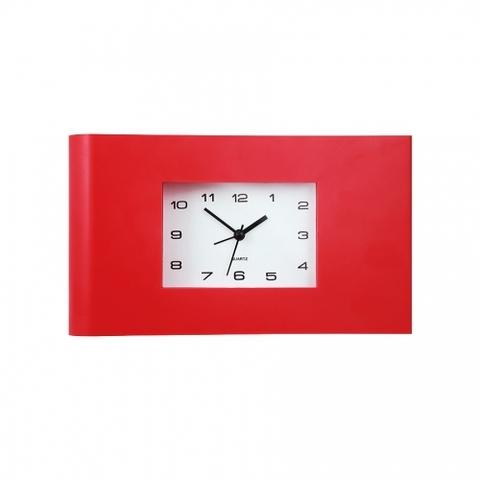 Часы-будильник СТАРТ АС\PL MINIMAL 15 красный