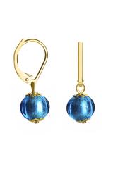 Серьги Carnavale Piccolo Oro голубые