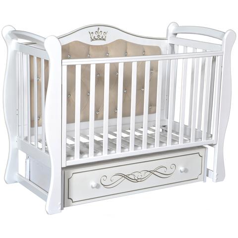 Кровать детская Виолетта O-1 (универсальный маятник, закрытый ящик)