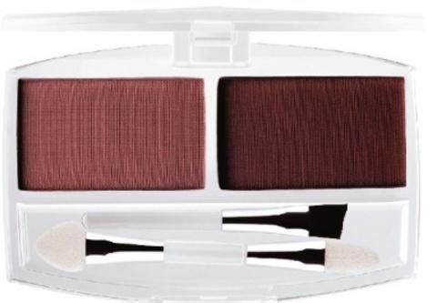 Ffleur тени ЕВ 01 тон 7В для век и бровей с аппликатором и кистью тон светло-коричневый (№ 5-8)
