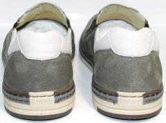 Мужские стильные туфли IKOC 3394-3 Gray.