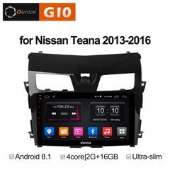 Штатная магнитола на Android 8.1 для Nissan Teana 3 13-16 Ownice G10 S1665E