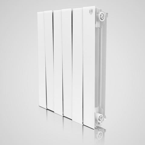 Радиатор биметаллический Royal Thermo PianoForte Bianco Traffico (белый)  - 4 секции