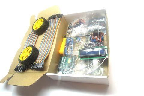 Arduino 2WD CAR KIT — электронный конструктор и удобная платформа разработки электронных устройств для новичков и профессионалов