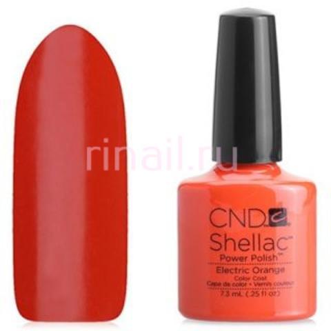 CND Шеллак 7,3 мл, Electric Orange