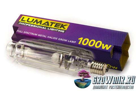 Металлогалогенная лампа LUMATEK MH 1000 W 240V