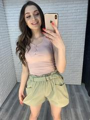 женские шорты зеленые nadya