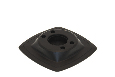 Монтажная ПВХ-площадка на надувной борт Mp224, 110 х 110 мм, черная
