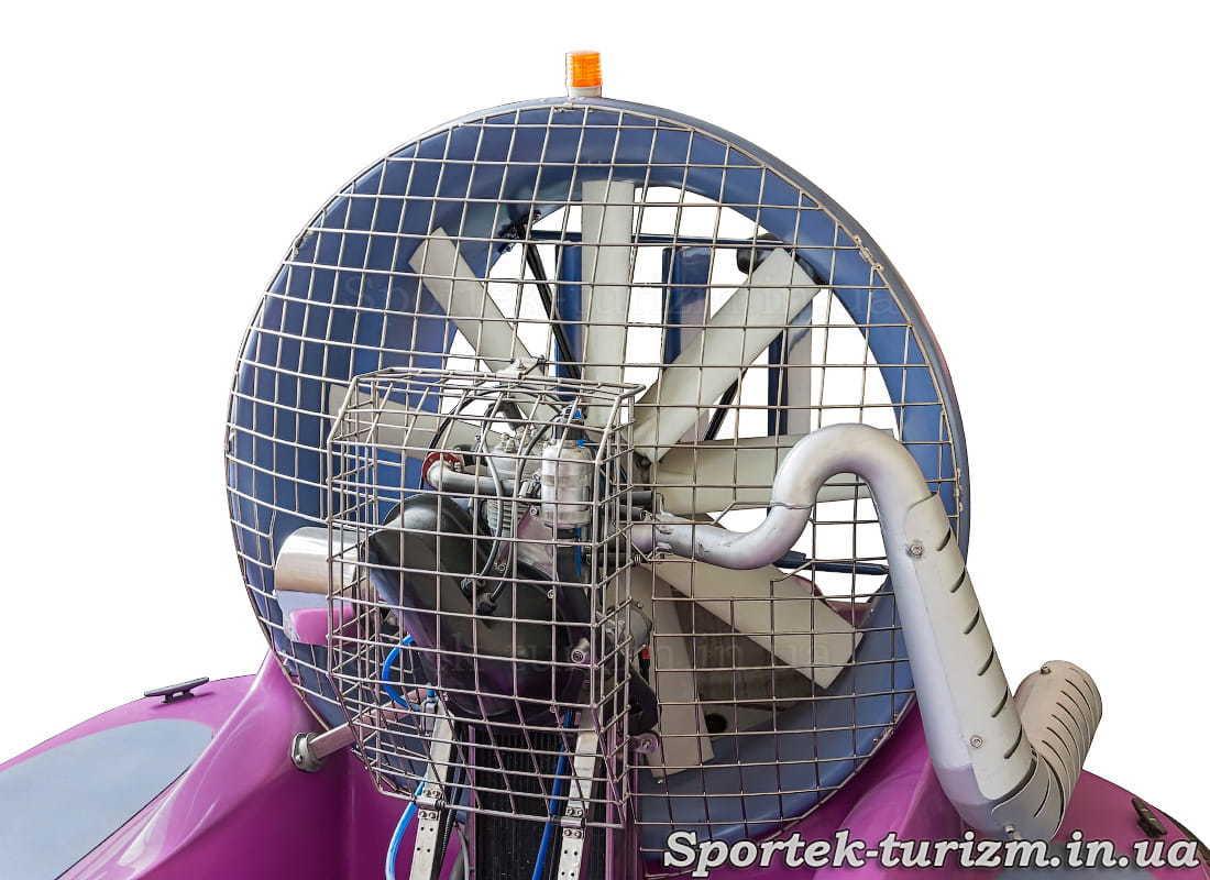 Двигатель катера на воздушной подушке Tornado-F50