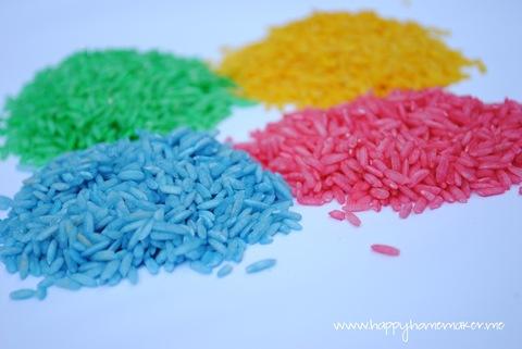 Цветной рис