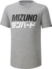 Футболка Mizuno Runbird Tee Grey мужская