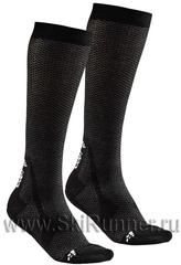 Комплект Гольфы утеплённые Craft Warm XC черные (2 пары)