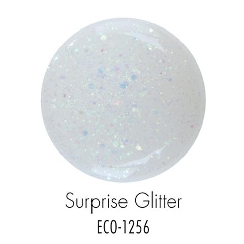 Биогель ECO SO QUICK SOAK OFF мерцающий радужный белый 7г