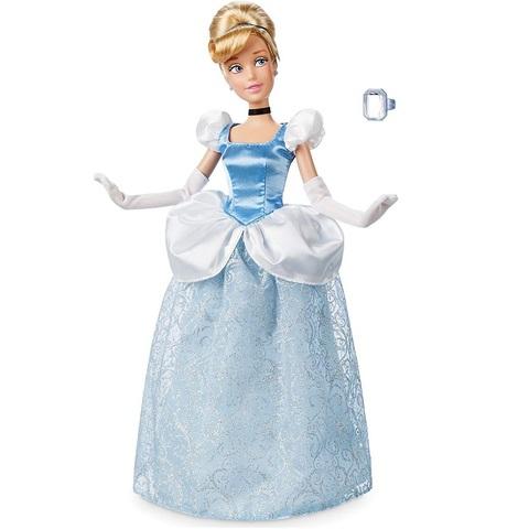 Дисней Золушка кукла 30 см с кольцом