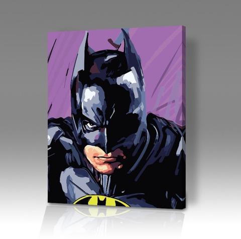 Картина по номерам на холсте Batman 1989, 40см*50см