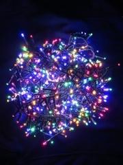 Светодиодная гирлянда Triumph Tree 370 ламп, мультиколор