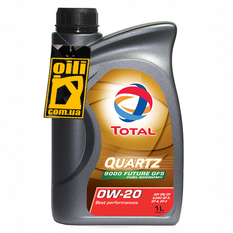 Total QUARTZ 9000 FUTURE GF5 0W-20 1л