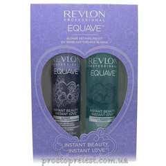 Revlon Professional Equave IB Blonde Duo Pack - Подарочный набор для ухода за блондированными волосами