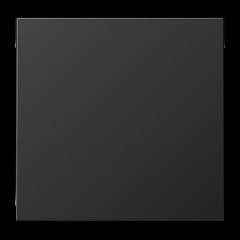 Выключатель одноклавишный. 10 A / 250 B ~. Цвет Dark. JUNG LS. 501U+AL2990D