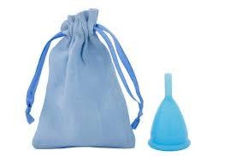 Менструальная чаша CupLee S, Голубая