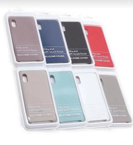Чехол для Samsung A10 Silicon Cover Филетовый
