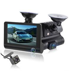 Видеорегистратор с тремя камерами Video Сar DVR автомобильный