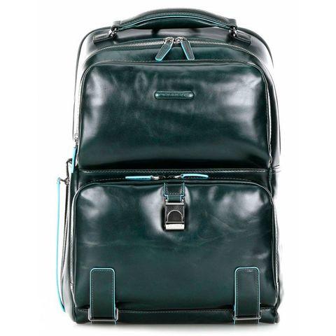 Рюкзак мужской Piquadro Blue Square CA4894B2/VE6 зеленый натур.кожа
