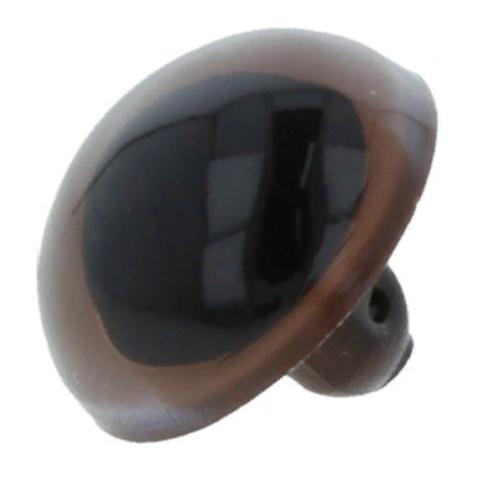 Глаза CRP-12 кристальные пришивные d 12 мм