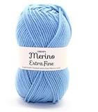 Пряжа Drops Merino Extra Fine 19 светлый серо-голубой