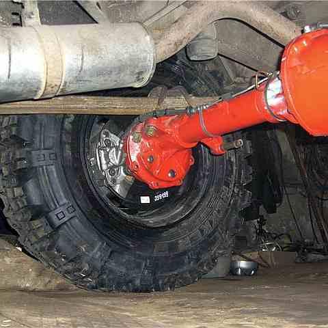 Установка дисковых тормозов на УАЗ Буханка