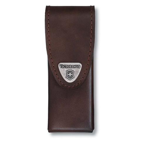 Чехол кожаный Victorinox, для мультитулов SwissTool Spirit, коричневый