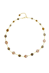 Комплект Amato L'Amore White (серьги, ожерелье)