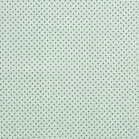 Ткань хлопковая черные точки на сером, отрез 50*80 см