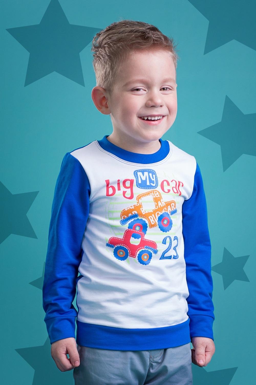Джемпер разноцветный для мальчика 4075-4