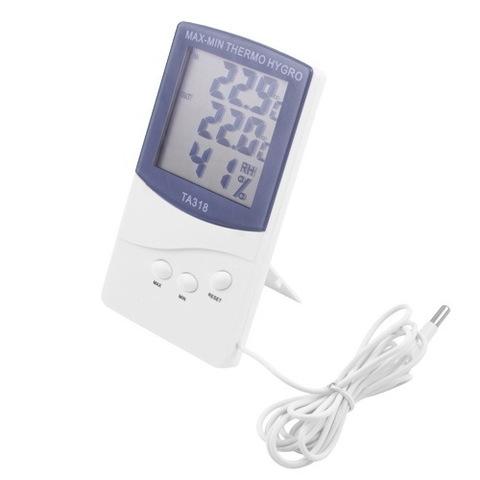 Термометр c гигрометром 318