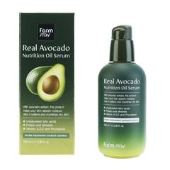 Сыворотка питательная с маслом авокадо FarmStay Real Avocado Nutrition Oil Serum