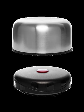 Термос для еды Арктика (0,75 литра) с супер-широким горлом, стальной, чехол