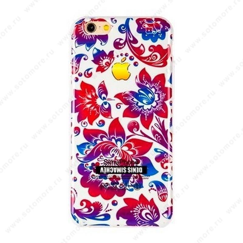 Накладка Denis Simachev силиконовый для Apple iPhone 6s Plus/ 6 Plus вид 27