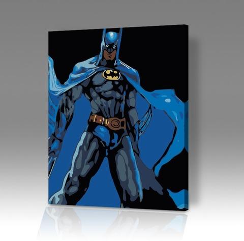 Картина по номерам на холсте Batman 1992, 40см*50см