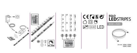 Светодиодная лента Eglo LED STRIPES-BASIC 92064 3