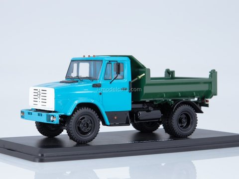 ZIL-MMZ-45085 dump truck blue-green 1:43 Start Scale Models (SSM)