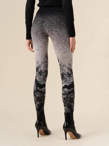 Женские брюки черного цвета из кашемира и вискозы - фото 3