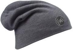 Теплая шерстяная шапка-чулок Buff Grey