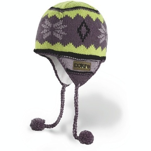 Картинка шапка с ушами Dakine Mini Peruvian Charcoal
