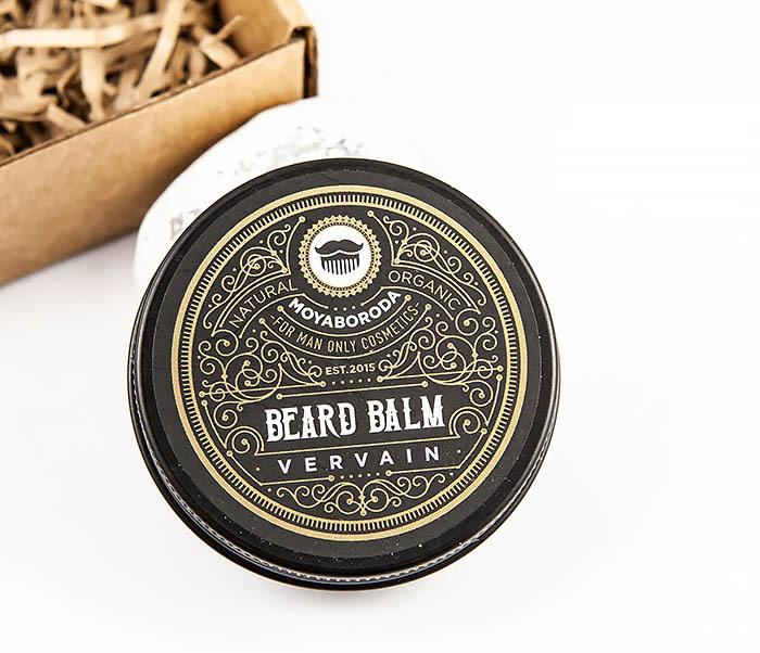 MOYABORODA, Органический бальзам для ухода за бородой MOYABORODA «VERVAIN» (30гр.) chi luxury black seed oil curl defining cream gel